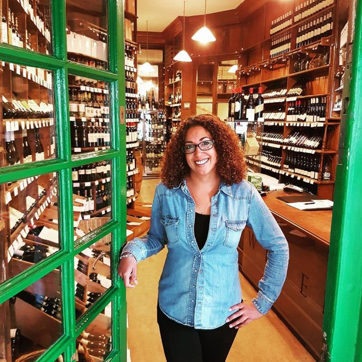 Natalie the founder of Sippers and Spitters