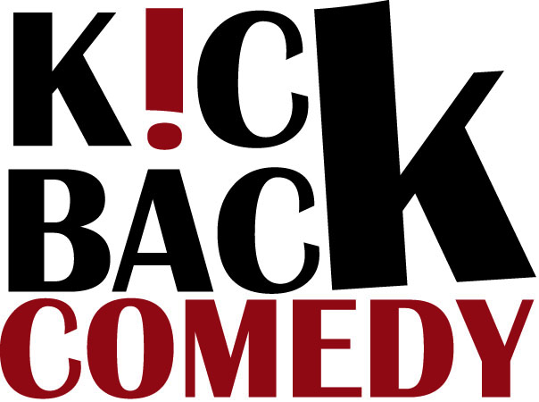 Graphic Design for the new Kick Back Comedy logo