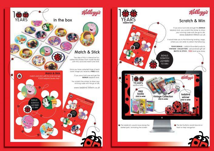 Graphic Design For Lady Bird Magazine